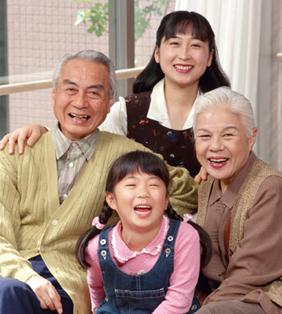 先祖の加護を願う